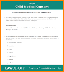 Sample Medical Release Form 24 Medical Release Form For Child Daily Log Sheet 22
