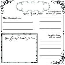birthday guest book printable pages printable guestbook pages