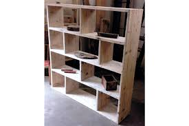 Reclaimed Wooden Future Rustic Room Divider / Shelving Unit / Vinyl Storage  Photo 1