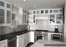 white and black kitchen backsplashes. Wonderful Kitchen Glass Marble Mixed White Kitchen Backsplash Tile This Glass Marble Mixed  Comes With A Polished Intended And Black Backsplashes B