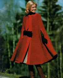 Pdf Digital Download Vintage Crochet Pattern Ladies Women S Cape Or