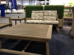 Small Picture Outdoor Living Teak Furniture Design of Vancouver Chat Sofa by