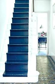 best paint for stair risers painted staircase painting diffe colors