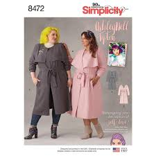 asley nell tipton misses coats simplicity sewing pattern 8472 sew essential