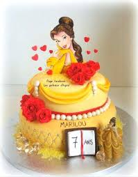 Belle Birthday Decorations Beauty And The Beast Birthday Cake Ideas Belle Decorations Image 59