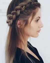 Plaits Hairstyle 11 Beautiful Plait Hairstyles For Your Wedding Day Plait Braid 7613 by stevesalt.us