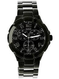 guess u11511g1 waterpro black dial black ion plated men s watch guess u11511g1 waterpro black dial black ion plated men s watch