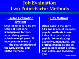 Hay Guide Chart Point System Job Evaluation Two Point Factor Methods Ppt Video Online