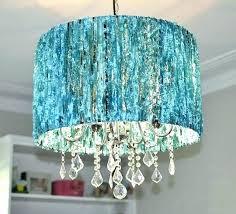 crystal lamp shade chandelier sheer