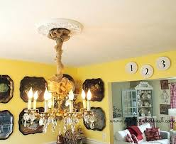 burlap ribbon chandelier chain cover white dining room decorating autumn changes i made how to make a chandelier chain cover uk
