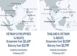 Celebrity Cruises Asia Air Credit Sale