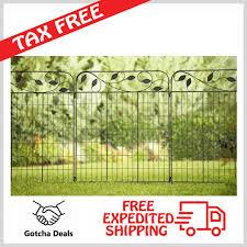 decorative wire garden fence. Amagabeli Decorative Garden Fence 36x 44 X 2 Panels Metal Wire Fencing  Outdoor Decorative Wire Garden Fence G