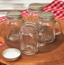 Decorative Mason Jar Lids Smith S Mason Jars 100 Oz Jar Mugs With Lids X 100 For Design 100 79
