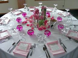round table settings for weddings wedding centerpieces