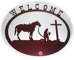 on cowboy metal wall art with southwest wrought iron metal wall decor