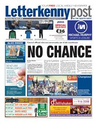Letterkenny Post 19 04 18 By River Media Newspapers Issuu