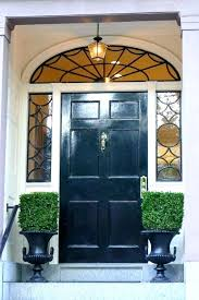wood front door with sidelights and transom entry door with sidelight and som medium size of