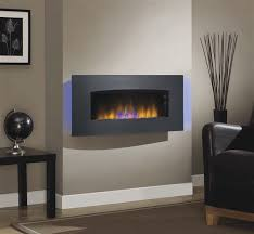 classicflame silver transcendence fire display black wall mount throughout wall mounted electric fireplace ideas
