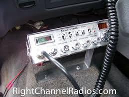cobra 29 classic cb radio right channel radios bottom speaker · cobra 29 installed under dash