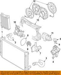 audi oem 09 12 s5 engine coolant recovery tank 8k0121405p ebay Ford Cooling System Diagrams image is loading audi oem 09 12 s5 engine coolant recovery
