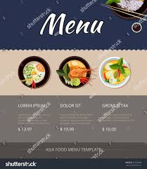 breakfast menu template food truck menu template high quality templates