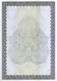 Бланки векселей сертификатов свидетельств грамот дипломов  Вид 27 Бланки для ценных бумаг сертификатов дипломов грамот свободное назначение РФ