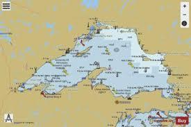 Lake Superior Depth Chart Lake Superior Marine Chart Us14961_p1499 Nautical