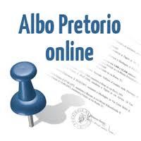 Risultati immagini per albo pretorio on line