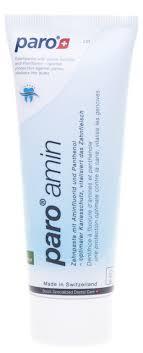 paro® AMIN <b>Зубная паста на основе</b> аминофторида 1250 ppm ...