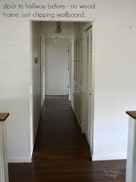 hallway door before an oregon cote