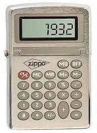 <b>Зажигалка Zippo</b> Calculator <b>200</b> на ZIPPO-RUSSIA.RU