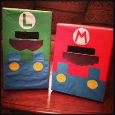 Boy Valentine Box Decorating Ideas Mario And Luigi Valentine Boxes I Made For The Boys Recipes I 48