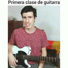 Suena like Lucho - Primera clase de guitarra