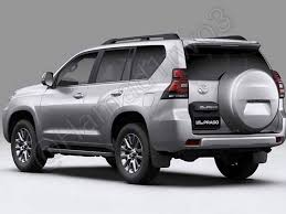 2018 toyota land cruiser price. contemporary land 2018 toyota land cruiser prado rear three quarters with toyota land cruiser price