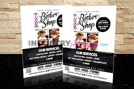 Barbershop Flyer 3 Industry Designs