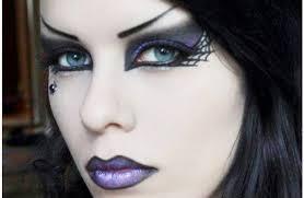 goth makeup for women