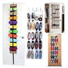 door rack organizer over the door shoe rack organizer closet door storage rack