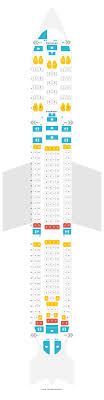 Seat Map Airbus A340 300 343 Turkish Airlines Find The