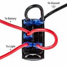 12 volt light wiring diagram 4 pin rocker switch schematics diagram