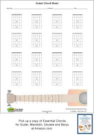 Blank Chord Chart Guitar Blank Printable Chord Boxes Verticalacoustic Music Tv