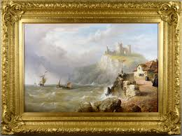 henry king taylor 19th century seascape oil painting