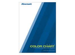 Rowmark Ada Alternative Color Chart Rowmark Introduces 2013 Color Chart Sign Builder