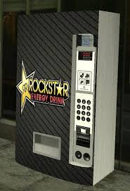 Rockstar Energy Drink Vending Machine Best GTA San Andreas Rockstar Energy Drink V48 Mod GTAinside
