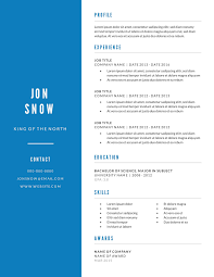resume templates examples lucidpress minimal resume template