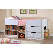 Kids Bedroom Furniture Perth Just Kids Perth Single Captains Bed Reviews Wayfaircouk
