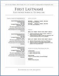 Sample Resume Templates Musiccityspiritsandcocktail Com