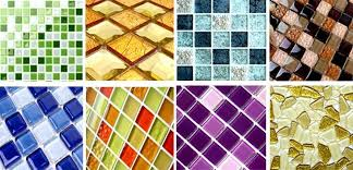 fashion beautiful low glass mosaic tiles supplier from china