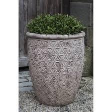jacquard large plant pots terra cotta