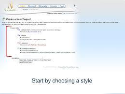 Noodlebib Creating A Bibliography Using Mla Advanced Ppt Download