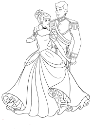 Coloring pages are fun for children of all ages and are a great educational tool that helps children develop fine motor skills, creativity and color recognition! Cinderella Coloring Pages For Kids Page 1 Line 17qq Com